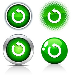 Refresh buttons vector