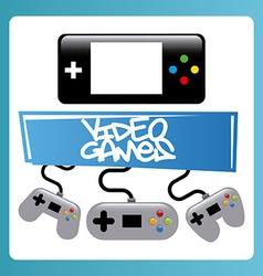 Video games vector