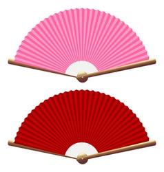Folding fan vector