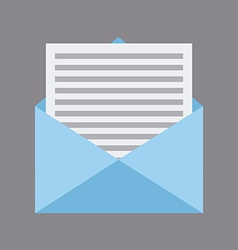 Mail design vector