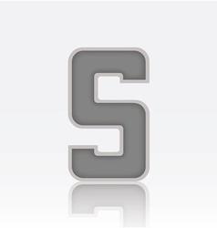 Alphabet s vector