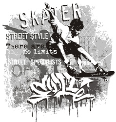 Skater no limit vector