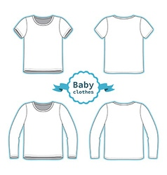 T-shirt and tee vector