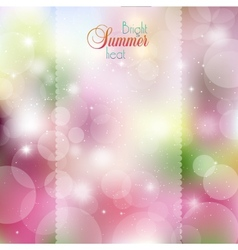 Abstract colored bright spots vector