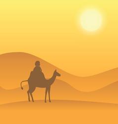 Desert camel vector