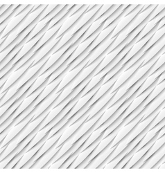 Seamless pattern of white paper elements with drop vector