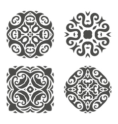 Abstract mehndi ornament - vector