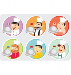 National cuisines vector