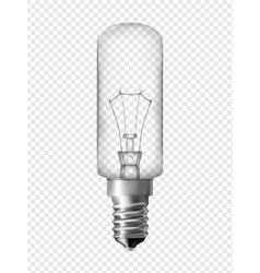 Fridge light bulb vector