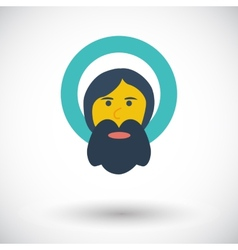 God single icon vector