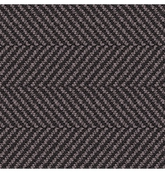 Wool herringbone fabric vector