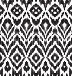 Ikat pattern vector