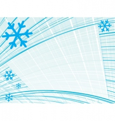 Lined snow vector