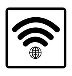 Wi-fi connection design vector