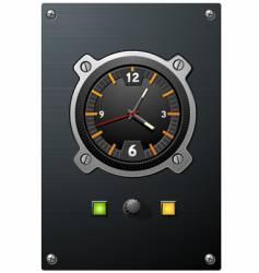 Clock device vector
