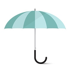 Umbrella isolated on white background vector