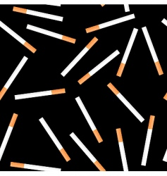 Cigarette seamless background vector