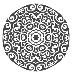 Abstract ornament in tribal style vector