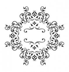 Decorative frame vector