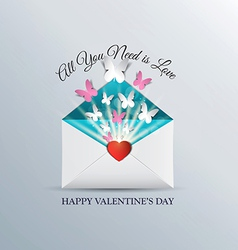 Valentine envelope vector