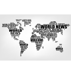 World news concept vector