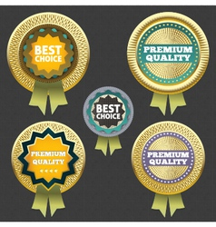 Premium quality and best choice label vector