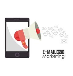 Email marketing design vector
