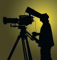 Cameraman vector