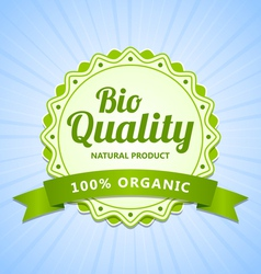 Bio quality label vector