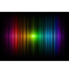 Vertical lines abstract rainbow dark vector