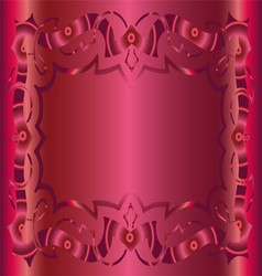 Vintage royal background dark pink floral luxury o vector