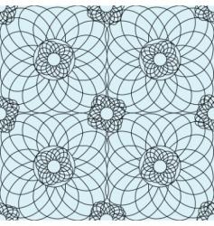 Complex guilloche pattern vector