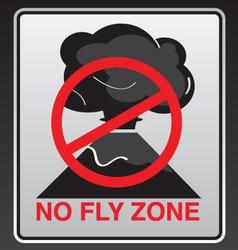 No fly zone vector