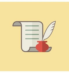 Write icon vector