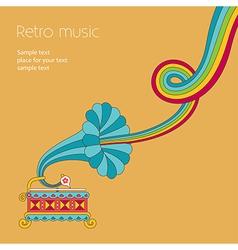 Music yellow vector