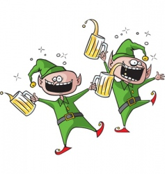 Party elves vector