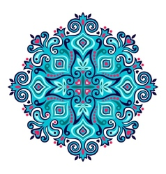 Arabesque decorative element vector