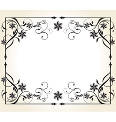 Vintage decoration vector