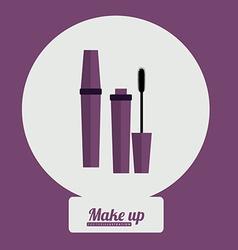 Make up desing vector