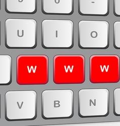 Keybord vector