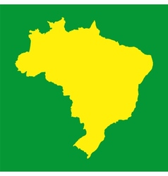 Brazil map background for your presentations vector