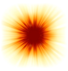 Red color design with a burst eps 8 vector