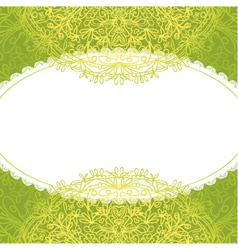 Vintage antique ornament background vector
