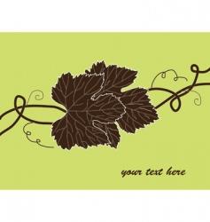 Grape invitation vector