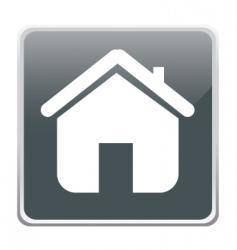 Home button vector