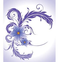 Summer floral vector