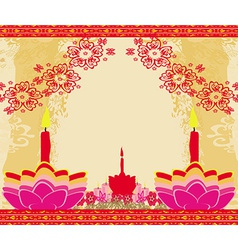 Abstract diwali celebration background vector