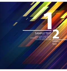 Abstract bright background with diagonal lines vector