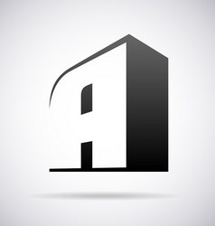 Logo for letter a vector