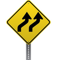 Lanes shifting sign vector